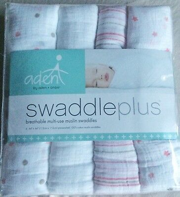 New!!!  Aden & Anais Muslin Cotton Swaddling Blankets