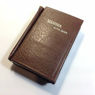 Vintage Novelty  HENICA NOTE BOOK Transistor Radio