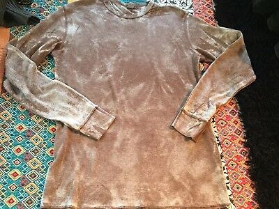 Nice Mens Ammo Brown Tie Dye Thermal Size Xl