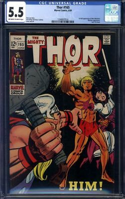 The Mighty Thor #165 CGC 5.5 1st Appearance of Him (Warlock)!!!