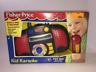 Fisher Price Kid Karao Extremely Rare NEW 1998 - RARE VINTAGE