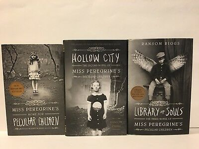 Miss Peregrin's Home For Peculiar Children Series Books 1-3 By Ransom Riggs