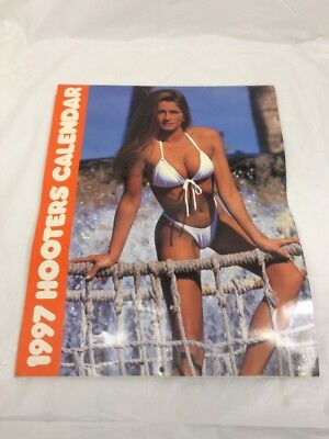 "Hooters Calendar 1997 swimsuit models 11"" x 14"""