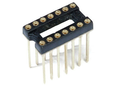 DIP-14 DIL-14 Ic Precision Socket Turned Precision Socket Rotated High Form PCB
