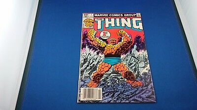 Marvel The Thing #1 July 1983