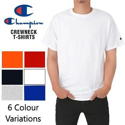 "100% Cotton Men's Branded ""CHAMPION"" T Shirt Top Quality Licensed Top Crew Neck"