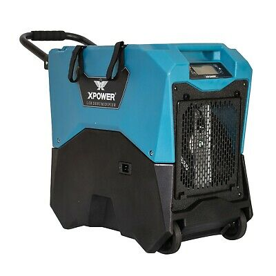 XPOWER XD-75LH Portable Industrial-grade LGR dehumidifiers w/ wheels+Handle