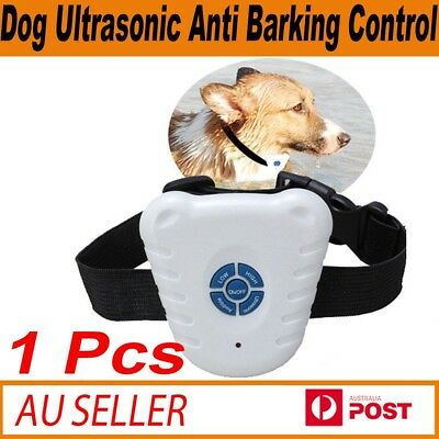 New Ultrasonic Dog Training Collar Anti Bark Stop Barking