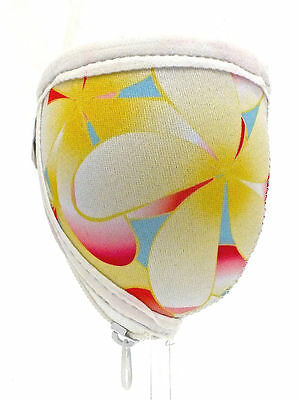 Large Wine Glass Cooler - Frangipani