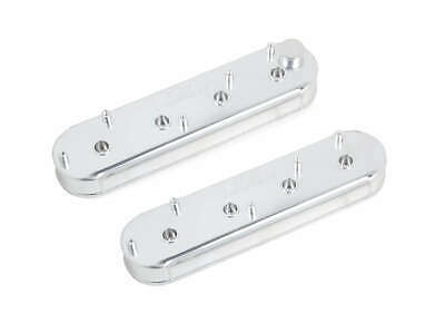 Holley 241-289 GM Track Series LS Valve Covers - Silver