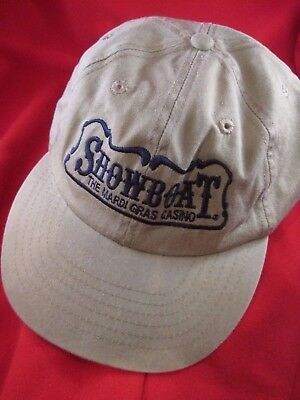 Showboat Casino Atlantic City Unisex Baseball Style Cap/Hat