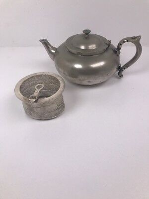 Robur silver plate Perfect teapot  Infuser