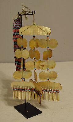 Necklace Philippines Sipattal Mother of Pearl Necklace Ineg Tribe Ceremonial