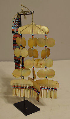 Philippines Sipattal Mother of Pearl Necklace Ineg Tribe Ceremonial Necklace