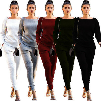 US Women Ripped Jumpsuit Bodycon Ladies Evening Party Playsuit Tops Blouse Pants