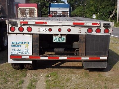 2005 fontain 48x102 flatbed