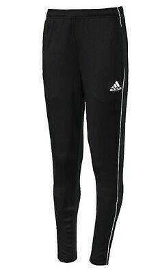 Adidas Youth Core 18 Training Soccer Climalite Black Running Kid Pants CE9034