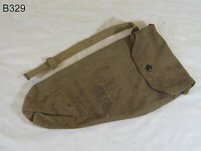 Vintage World War Ii Wwii Us Noncombantant Gas Mask M1A2-1-1 Haversack Bag Rare
