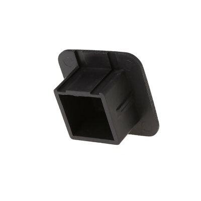 """1-1/4 Inch (1.25"""") Universal Class I and Class II Black Trailer Hitch Cover Plug"""