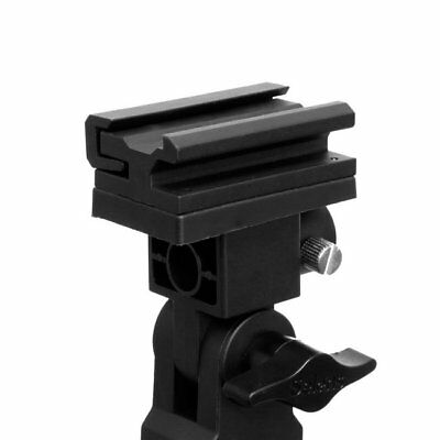 B Type Flash Bracket Umbrella Holder Swivel Light Stand Adapter Hot-shoe Flash