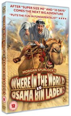 Where in the World Is Osama Bin Laden?  DVD NEW