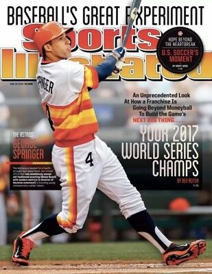 Sports Illustrated Houston Astros George Springer Prediction Issue 6/30/14