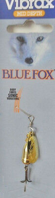 Blue Fox Vibrax Spinner size 1, 4 grams – Gold, Trout Redfin Lure