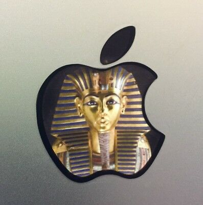 GLOWING KING TUT MASK EGYPT Apple MacBook Pro Air Sticker Mac Laptop DECAL11-17""