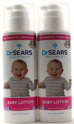 2 Dr. Sears Family Essentials Baby Care All Natural No Harmful Chemicals 6.7 Oz