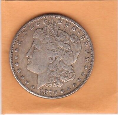 1879 US Morgan Dollar 90% Silver Coins