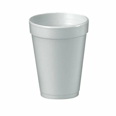 Dart 16J16 Foam Drink Cups, 16oz, White, 25 Per Bag Case of 40 Bags