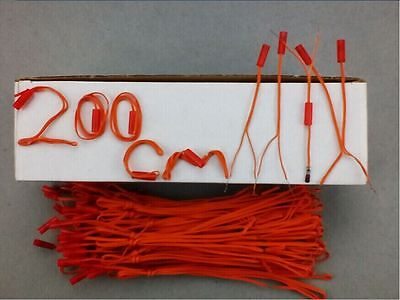 60pcs 2M wire Fireworks Firing System Wedding display Electric Igniters E-match