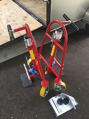 DAYTON 13V407 Furniture Crate Mover Cap1300 Lb Appliance Dolly Machinery Mover