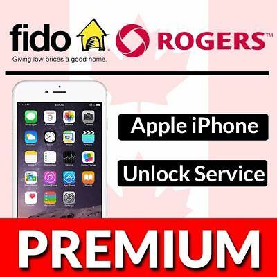 Fido iPhone Unlock Service ALL MODELS [FAST 24 HOURS OR LESS]