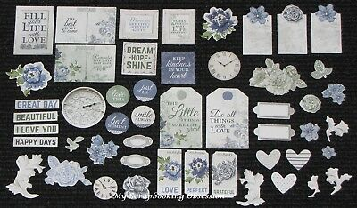 Kaisercraft 'WANDERING IVY' Collectables Die Cut Shapes Floral/Flowers KAISER
