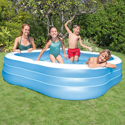 Intex Kinderpool Swim Center Family Lounge Pool Mehrfarbig 229 X