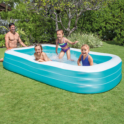INTEX Swim Center Family Swimming Pool Planschbecken 305x183cm Türkis