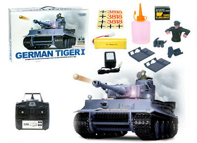 Heng Long 3818-1 2.4G 1/16 Germany Tiger I Tank Radio Controlled RC Battle Tank