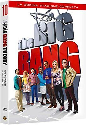 The Big Bang Theory - Stagione 10 (3 Dvd) Cofanetto Nuovo, Italiano, Originale
