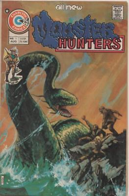 Monster Hunters #1 (Charlton) August 1975 Fine+ conditon