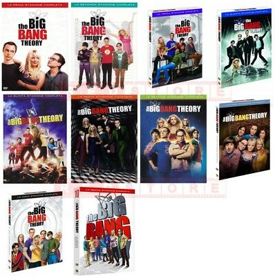 The Big Bang Theory - Stagioni Da 1 A 10 (31 Dvd) Cofanetti Singoli, Nuovi, Ital