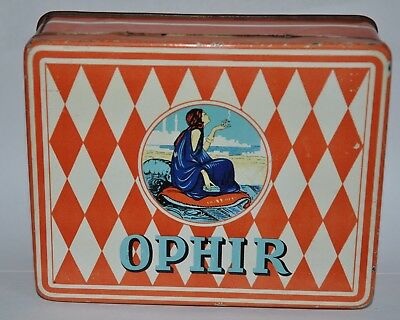OPHIR    SATO  Cigarettes Egyptiennes     Lady Cigarettes tin