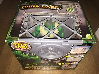 Incredible Hulk Electronic Rage Cage With Sounds & Breakout Action New & Boxed