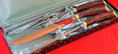 CUTLERS SET( 3 pc)  with HARD  BOX -  manufacture  by  PALMER JOHN ( CANADA)