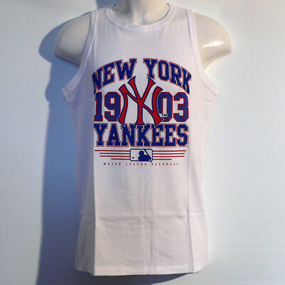 New York Yankees Shirt / Tank Top - MLB Baseball - Majestic -  NY Yankees - Neu