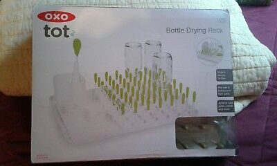 NEW OXO Tot Bottle and Accessories Drying Rack