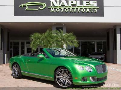 2014 Bentley Continental GT GTC Speed 2014 Bentley Continental GTC Speed, Naim Audio, Adaptive Cruise, Very Unique