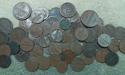 Old German coin lot (65 Pre 1900 Coins)