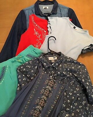 Lot Of 6 - Girls Clothes - Sizes 10/12 & 14/16