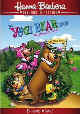 Hanna Barbera Dh645664D Yogi Bear Show-Complete Series (Dvd/60Th Anniv/new Di...